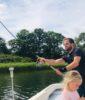 Sådan fisker du bedst med Snurrebassen for at lokke ørreden til