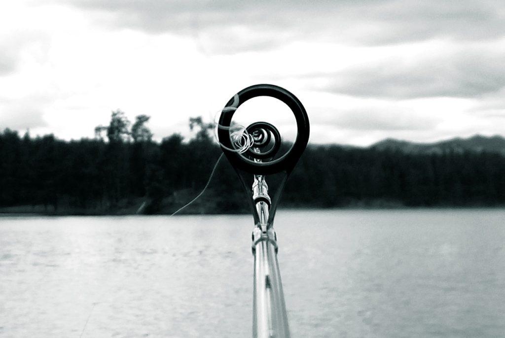 klargøring af fiskestang