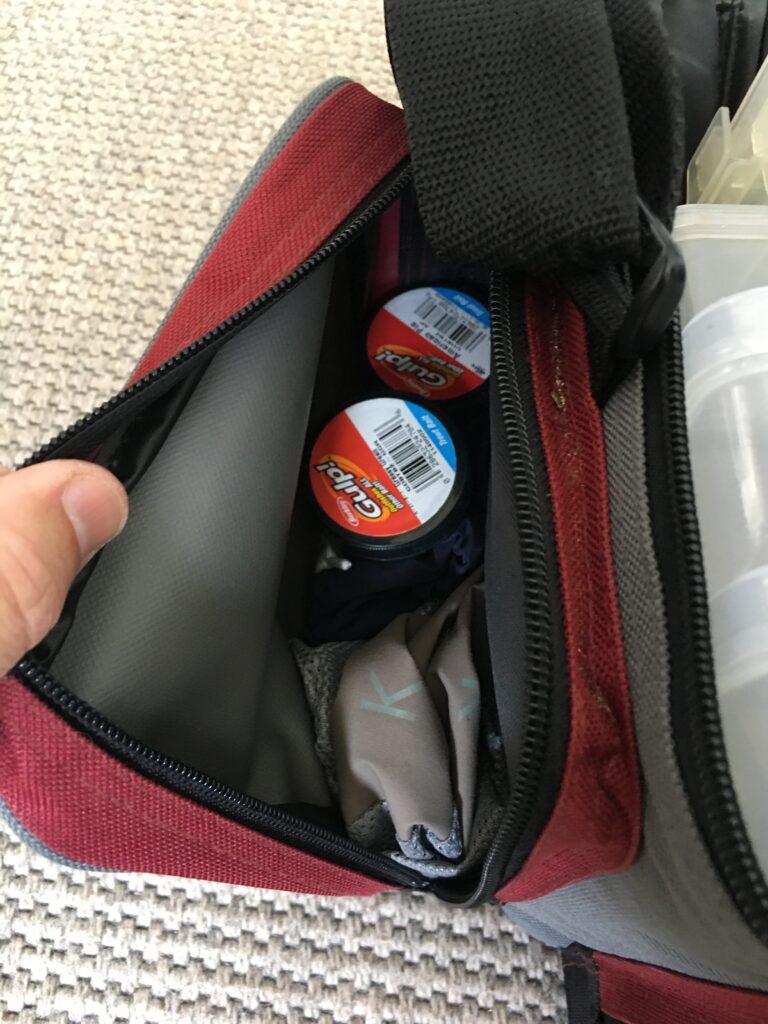 Taske til fiskegrej